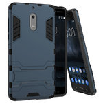 Slim Armour Rugged Tough Shockproof Case for Nokia 6 (2017) - Blue